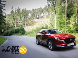 Mazda CX-30 z nagrodą Fleet Awords 2020
